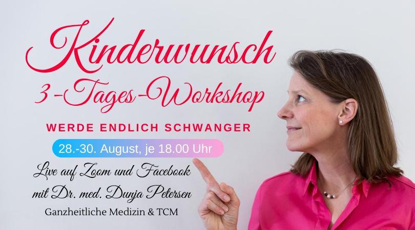Kinderwunsch 3-Tages-Workshop